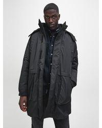 Calvin Klein 2-in-1 Parka Coat - Black