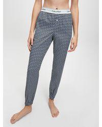 Calvin Klein Pyjama Trousers - Blue