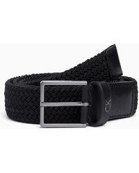 Calvin Klein Elastische Riem - Zwart