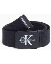 Calvin Klein Gürtel mit Koppelschließe - Schwarz