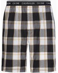 Calvin Klein Pyjamashort - Ck One - Zwart