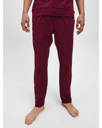 Calvin Klein Pyjamabroek - Ck One - Rood