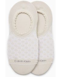 Calvin Klein 2-pack Footies - Naturel