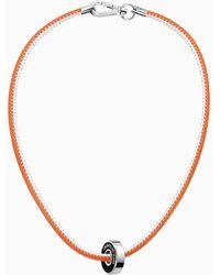 Calvin Klein Ketting - Bearing - Oranje