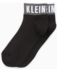 Calvin Klein Enkelsokken Met Logo - Zwart