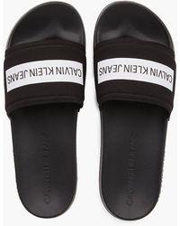 Calvin Klein Slippers - Schwarz