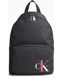 Calvin Klein Ronde Rugzak - Ck One - Zwart