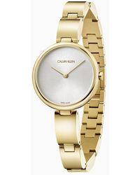Calvin Klein Horloge - Wavy - Geel