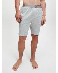 Calvin Klein Pyjamashort - Icon - Grijs