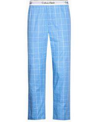 Calvin Klein Pantal�n de pijama - Modern Cotton - Azul