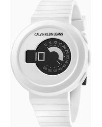 Calvin Klein Horloge - Digital - Wit