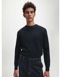 Calvin Klein - Baumwoll-Kaschmir-Pullover - Lyst