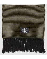 Calvin Klein Charpe ultra-longue - Vert