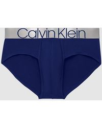 Calvin Klein Slip - Icon - Blauw