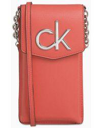 Calvin Klein Telefoonbuidel - Rood
