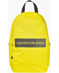 Calvin Klein - Recycled Polyester Round Backpack - Lyst