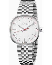 Calvin Klein Horloge - Squarely - Metallic