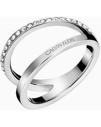Calvin Klein Ring - Outline - Metallic