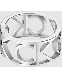Calvin Klein Ring - Mania - Metallic