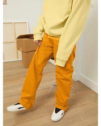 Calvin Klein Straight Jeans - Gelb