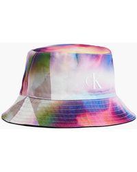 Calvin Klein Unisex Bucket Hat zum Wenden - Pride - Schwarz