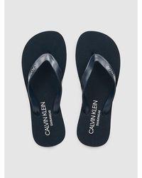 Calvin Klein Slippers - Blauw