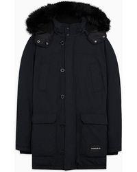 Calvin Klein Gewatteerde Donzen Parkajas - Zwart