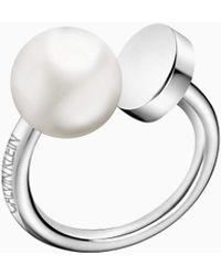 Calvin Klein Ring - Bubbly - Metallic