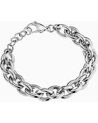 Calvin Klein Armband - Statement - Metallic