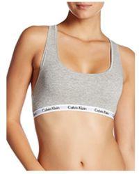 Calvin Klein Carousel Bralette - Gray