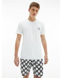 Calvin Klein Pyjama Met Short - Ck One - Zwart