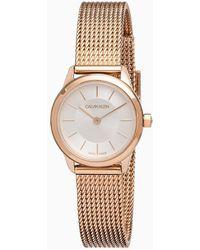 Calvin Klein Horloge - Minimal - Roze