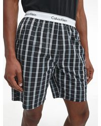 Calvin Klein Shorts-Pyjama-Set - Modern Cotton - Schwarz