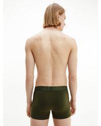 Calvin Klein Boxershorts Cotton Modal Luxe - Grün