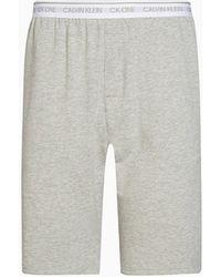 Calvin Klein Pyjama-Shorts - CK ONE - Grau