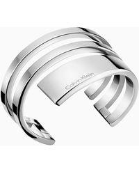 Calvin Klein Open Bangle - Beyond - Metallic