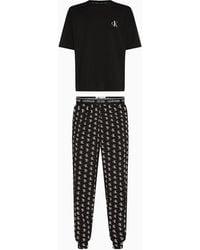 Calvin Klein Broek Pyjama - Ck One - Zwart