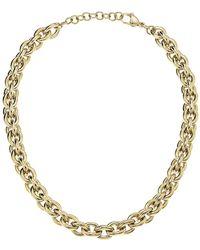 Calvin Klein Statement Gold Chainlink Necklace - Metallic