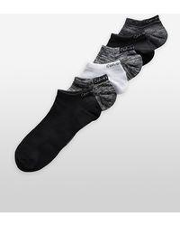 Calvin Klein - Underwear 6-pack Heathered Sport Socks - Lyst