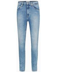 Calvin Klein Ckj 010 High Rise Skinny Jeans - Blauw