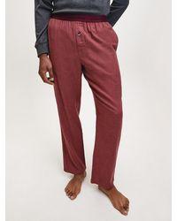Calvin Klein Pyjamabroek - Rood