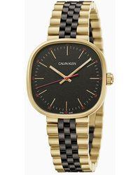 Calvin Klein Horloge - Squarely - Geel