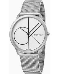 Calvin Klein Horloge - Minimal - Metallic