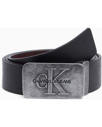 Calvin Klein Cadeaubox Leren Riem - Zwart
