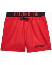 Calvin Klein Zwemshort Jongens - Intense Power - Rood