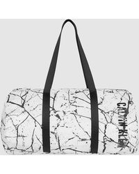 Calvin Klein Unisex Printed Duffle Bag - Black