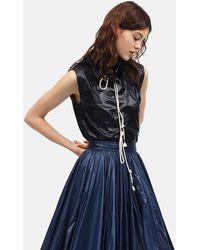 Calvin Klein - Lightweight Nylon Sleeveless Top - Lyst