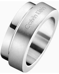 Calvin Klein Ring - Loud - Metallic