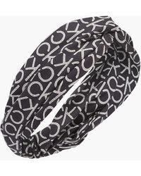 Calvin Klein Twist Headband - Black