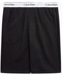 Calvin Klein Pyjama-Shorts - Modern Cotton - Schwarz